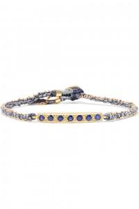BROOKE GREGSON 18-karat gold sapphire bracelet
