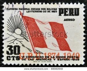 peru - stamp - honeymoon destinations
