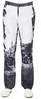 Anita Dongre Ivory Trousers with Print