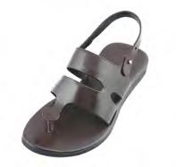 Rajesh Pratap Singh Brown Leather Strap Brown Sandal