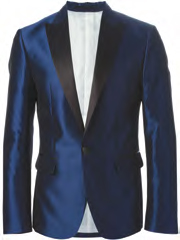 Dsquared2 metallic gloss,two piece suit