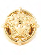 Versace Jude Law for Oscars 2015 Round Medusa Ring